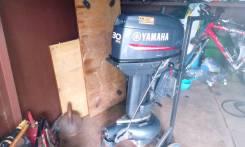 Yamaha. 30,00л.с., 2-тактный, бензиновый, нога S (381 мм), Год: 2016 год