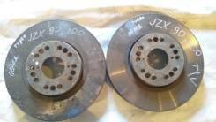 Диск тормозной. Toyota Mark II, JZX100, JZX110, JZX90 Toyota Chaser, JZX100, JZX90 Toyota Cresta, JZX100, JZX90 Двигатель 1JZGTE
