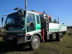 Isuzu Forward. Продам грузовик Isuzu Forvard манипулятор, 7 200 куб. см., 3 000 кг.