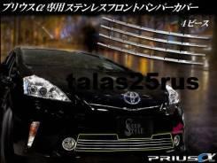 Накладка на решетку бампера. Toyota Prius a, ZVW40W, ZVW40