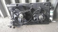 Вентилятор радиатора кондиционера. Volkswagen Golf