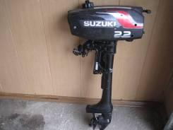 Suzuki. 2,20л.с., 2х тактный, бензин, нога S (381 мм), Год: 2006 год
