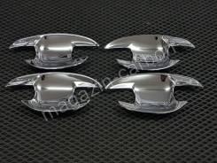 Накладка на ручки дверей. Toyota Prius, NHW20, ZVW30, ZVW30L, ZVW35, ZVW50, ZVW50L, ZVW51, ZVW55 Двигатели: 1NZFXE, 2ZRFXE. Под заказ