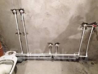 Сантехработы. Замена труб в ванной комнате под ключ. Частное лицо.