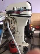 Johnson. 10,00л.с., 2х тактный, бензин, нога L (508 мм), Год: 1998 год