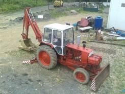 ЮМЗ. Трактор-Экскаватор , 5 000 куб. см., 0,25куб. м.