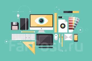 Графический дизайнер. Высшее образование по специальности, опыт работы 6 лет