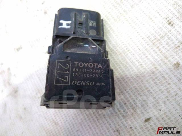 Датчик парктроника. Toyota Camry, ASV50, ACV51, AVV50, GSV50 Toyota Land Cruiser Toyota Land Cruiser Prado Двигатели: 2ARFE, 1AZFE, 2ARFXE, 2GRFE