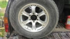 Диски литые автомобильные. 7.5x17 6x139.70 ET25 ЦО 106,5мм.