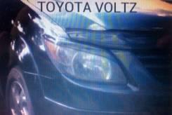 Накладка на фару. Toyota Voltz, ZZE136, ZZE137, ZZE138 1ZZFE, 2ZZGE