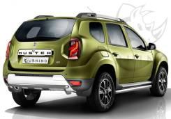 Защита бампера. Renault Duster, HSA, HSM Двигатели: K9K, K4M, F4R. Под заказ
