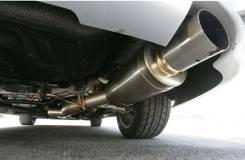 Глушитель. Mitsubishi Lancer Evolution, CT9A Двигатели: 4G63, MIVEC, T, C