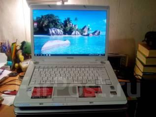 """Toshiba Dynabook. 15.4"""", 2,0ГГц, ОЗУ 4096 Мб, диск 120 Гб, WiFi, аккумулятор на 1 ч."""