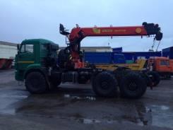 43118, 2017. Сидельный тягач с КМУ, 1 176 куб. см., 1 000 кг.