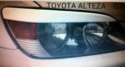 Накладка на фару. Toyota Altezza, GXE10, GXE10W