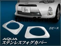 Ободок противотуманной фары. Toyota Aqua, NHP10, NHP10H