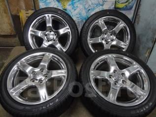 Продам Стильный Крутой Хром Toyota Aristo+Лето Жир 235/45R17. 8.0x17 5x114.30 ET50