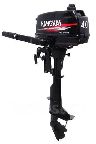 Hangkai. 4,00л.с., 2-тактный, бензиновый, нога S (381 мм), Год: 2017 год