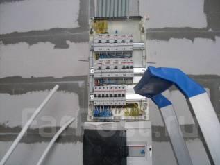 Услуги электриков, монтаж электророзеток/выключателей/электропроводки
