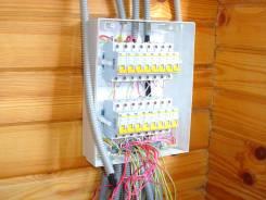 Услуги электрика: монтаж выключателей, розеток, счетчиков