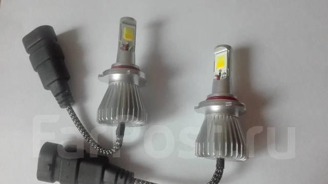 Лампы светодиодные в фары двухцветные HB3 (9005). Toyota: Platz, Windom, Lite Ace, Aristo, Ipsum, Corolla, Altezza, MR-S, Tundra, Raum, Vista, Echo Ve...