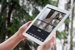 Установка видеонаблюдения и видео-аудио домофонов, СКУД, сигнализаций