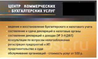 Налоговая и бухгалтерская отчетность ООО, ИП