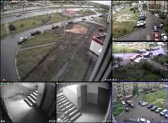 Установка видеонаблюдения, видеодомофонов, аудиодомофонов, скуд