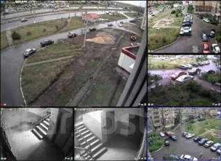 Установка видеонаблюдения, видеодомофонов, аудиодомофонов