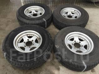 Комплект колёс джип на литье 265/70/15 лето. 8.0x15 6x139.70 ET10