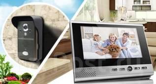Установка видеодомофонов(аудиодомофон) и видеонаблюдения, сигнализаций