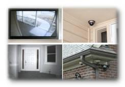 Установка видео-аудио домофонов, видеонаблюдения, СКУД, сигнализации