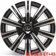 Lexus. 8.5x20, 5x150.00, ET45, ЦО 110,1мм.