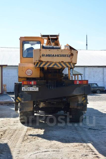 Ивановец КС-35714. Автокран УРАЛ 2012 г. в. 16 тонн, 14 859куб. см., 16 000кг., 18,00м.