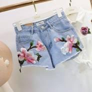 Шорты джинсовые. 40, 42, 44, 46, 48. Под заказ