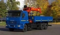 Инман ИМ 150. КМУ Камаз 6586-7732201-19 + Palfinger Инман IT-150, 150 куб. см., 25 000 кг., 15 м.