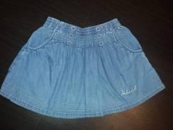 Юбки джинсовые. Рост: 116-122, 122-128 см