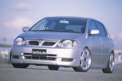 Обвес кузова аэродинамический. Toyota Allex, NZE121, NZE124, ZZE123 Toyota Corolla Runx, NZE121, NZE124, ZZE123 Двигатели: 1NZFE, 2ZZGE