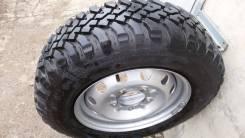 Одно колесо Cordiant Off Road 205/70-15 на диске Ш. Нива новое. 6.0x15 5x139.70 ET40 ЦО 98,5мм.