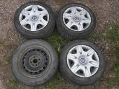Dunlop Graspic DS3. Зимние, без шипов, износ: 20%, 4 шт