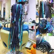 Афроплетение волос , прически, Окрашивание, восстановление