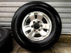 Комплект колес 265/70R16 на Toyota Surf Bridgestone Dueler H/T D689. 7.0x16 6x139.70 ET28