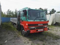 Isuzu Forward. Продам бортовой грузовик с краном , 6 500 куб. см., 5 000 кг.