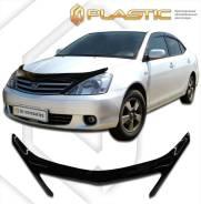 Дефлектор для защиты передней части капота Toyota Allion (черный) 01г. кузов AZT, NZT,ZZT240 (165)ЭКСКЛЮЗИВ (165) Ч\ЭКСКЛ