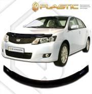 Дефлектор для защиты передней части капота Toyota Allion (шелкография белая) 2007г. (306) (306) Ш/Б
