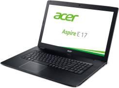 "Acer Aspire E5. 17.3"", ОЗУ 6144 МБ, диск 1 000 Гб, WiFi, Bluetooth, аккумулятор на 4 ч."