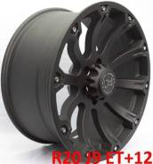 Black Rhino Sidewinder. 9.0x20, 6x139.70, ET12, ЦО 110,1мм.