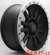 Black Rhino. 9.0x20, 6x139.70, ET12, ЦО 110,1мм.