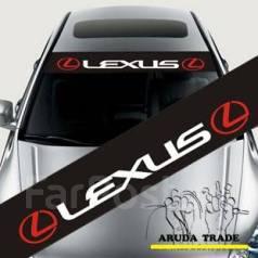 Наклейка. Lexus