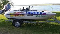 Yamaha Exciter. Год: 1998 год, длина 4,40м., двигатель подвесной, 80,00л.с., бензин